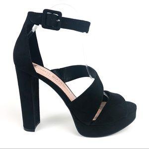 Chinese Laundry Riddle Asymmetrical Sandal Black